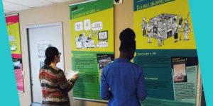 Dans le cadre de nos expérimentations, nos expo-quiz® sont prêtées sur le territoire rhodanien à différentes structures qui les incluent dans leur projet éducatif.