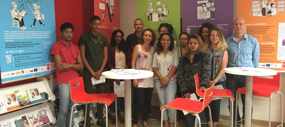 La Cité des Métiers de la Réunion découvre le potentiel caché de « L'illettrisme, parlons-en ! ».