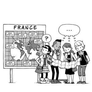 """Dessin de l'expo quiz® """"Ma France, parlons-en !"""""""