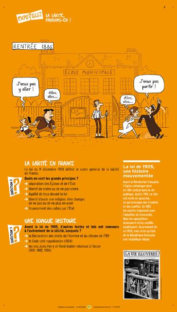 11La laïcité est un pilier de la vie publique en France, un principe constitutionnel de la République française.