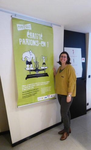 Marion Gazzola est juriste à la Maison de justice et du droit de Villeurbanne (69) du Rhône. Chargée du Point d'Accès au Droit, elle utilise depuis 2014 « Égalité, parlons-en ! » et « Droits et responsabilités, parlons-en ! » dans le cadre des Rencontres du Tonkin. En mai 2018, elle a coanimé son atelier avec le Délégué territorial du Défenseur des droits.