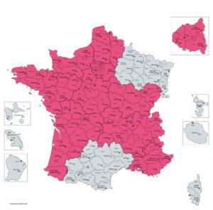 Où retrouve-t-on les expo-quiz du Moutard en France ? C'est une information intéressante si vous voulez acheter ou vous faire prêter une expo-quiz, ou développer un projet commun avec le Moutard.