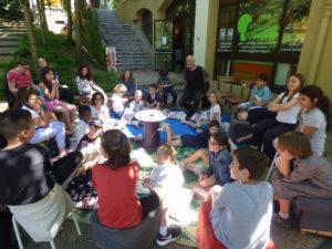 Organisation et animation de lieux de débats pour les enfants (« Forum des enfants citoyens® ») et les adolescents