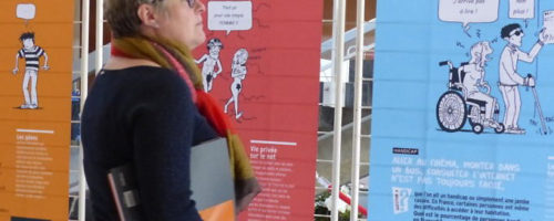 11Sophie Ebermeyer est chargée de mission Égalité et lutte contre les discriminations à Grenoble-Alpes Métropole (GAM). La GAM a acheté l'expo-quiz® « Égalité, parlons-en ! ». Comment celle-ci est-elle utilisée ?
