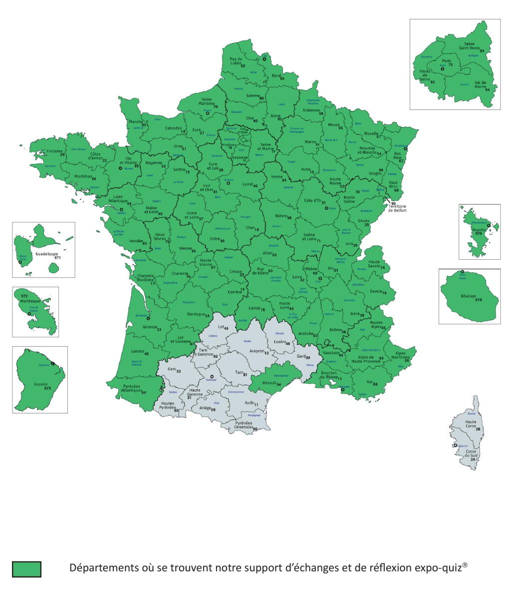 Présence territoriale expo-quiz® Je vote (boîtiers de vote électroniques) - Ma France, parlons-en ! - 26/11/2019
